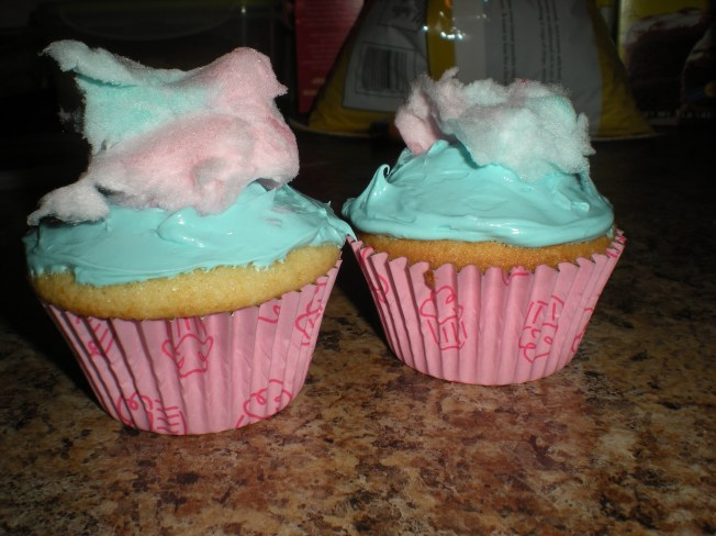 Cotton Candy Cupcakes 2